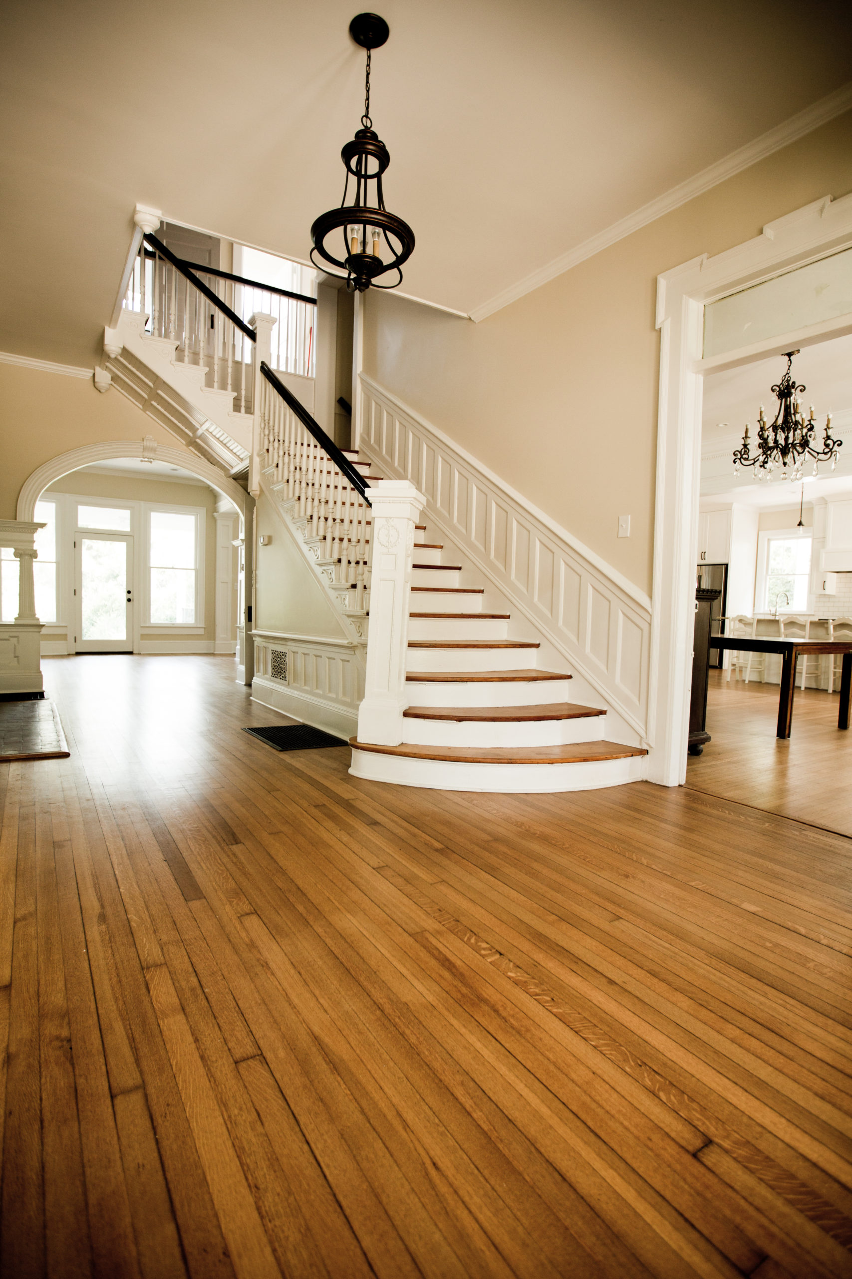 maintain wood floors